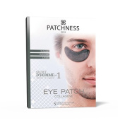 Patchness - Eye Patch Black Men Anti Dark Circle Patch Collagen - Hyaluronic Acid 5 Pairs