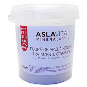 Aslavital MineralActiv Clay Powder for Cosmetic Treatments- PROFESSIONAL LINE 750 gr