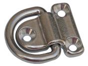 Marine Stainless Steel Folding Pad Eye for Boat, Caravan, Rv, Truck- Five Oceans BC 297
