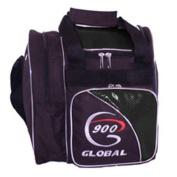 900 Global Fresh Single Tote Bowling Bag, Black/Black