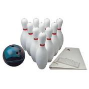 FlagHouse Weighted Bowling Set