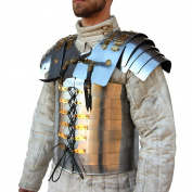 Roman Soldier Military Lorica Segmentata Body Armour 20g Steel