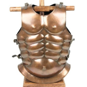 Mediaeval Roman Greek Muscle Body Armour Cuirass Copper Finish