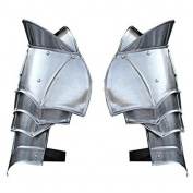 Steel Warrior Pauldron Mediaeval Shoulder Armour Set
