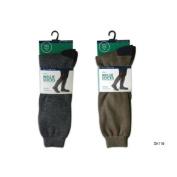 Mens Contrast Wellington Welly Boot Socks. Size