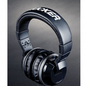 Kicker HP402MB Cush Over-Ear Headphones with Mic & Remote - Black
