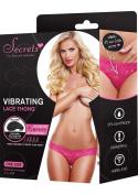 Secrets Remote Control 5 Function Vibrating Lace Thong