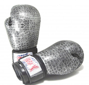 Boxing Gloves ' CROCODILE' (350ml)- BronX -Super Exclusive GENUINE LEATHER