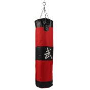 Crazy K & A 100 CM Boxing Sanda Hanging Type Drop Hollow Canvas Sandbag