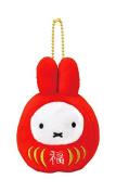 Miffy Fortune Daruma Mascot Ball Chain