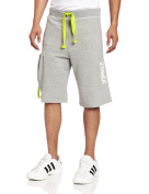 Zumba Fitness Men's Lunar French Terry Shorts, Heather Grey, X-Small