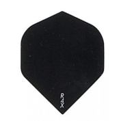 3 Sets of 3 Dart Flights - 1602 - Ruthless R4X Double Thick Black Standard Flights