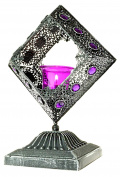 Large Moroccan Bejewelled Tealight Candle Holder 28cm Height