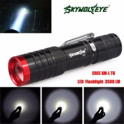 ZIYUO Cree XM-L T6 3000lm 3 Lighting Modes LED Flashlight Outdoor Waterproof Torch Lamp