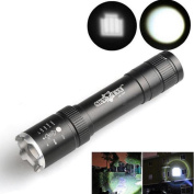 Powerful Torch Flashlight ZIYUO 2500 Lumens Zoomable LED Flashlight