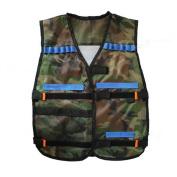 Tinksky Tactical Vest for Nerf N-Strike Elite Battle Game Gifts for Men