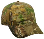 Realtree Adjustable Closure Blank Ripstop Camo Cap