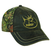 Mossy Oak Adjustable Closure Break-Up Country Camo Cap, Dark Brown/Mossy Oak