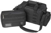 Bulldog Cases X-Large MOLLE Tactical Range Bag, Black,
