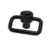Tactical Scorpion Gear TSG-QD Heavy Duty Push Button Quick Connect QD Swivel - Black