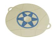 Beper Universal Silicone Lid, Vintage Cream, 30 cm