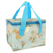 Cooler Bag Map Lunch Cooler Bag Ideal For Kids Lunches