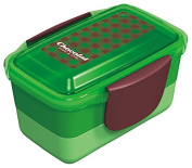 Chocolat dome two-stage lunch box green 668729