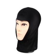 DDLBiz Black Outdoor Cycling Ski Sports Face Mask Warm Scarf Hood Hat
