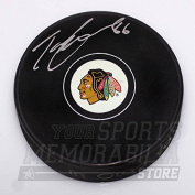 Teuvo Teravainen Chicago Blackhawks Signed Autographed Hockey Puck Teuvo holo