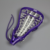STX Fortress Strung Lacrosse Head - Purple/plum