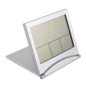 Home Office Family Folding Travel LCD Digital Display Alarm Clock Temperature Display Multi-function