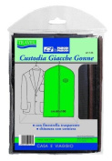 Garment Covers Case and Skirt, Jacket prottetivo Covers pvc Case for Suits, Jackets, Shirts, Breathable Garment Covers - 60 x 100 cm-Suit Covers Waterproof Cover Skirt With Zip art 145