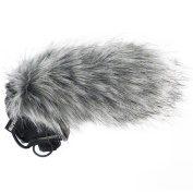 Keepdrum WS03 Fur Windshield for Rode Stereo VideoMic Pro Camera Mic