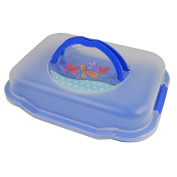 'GIES 12290cm Piccolino Party Butler Blue Plastic