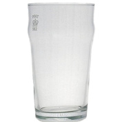 Set of 4 Nonic 1/2 Pint Glass - Government Stamped
