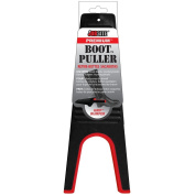 JobSite Premium Heavy Duty Boot Puller with Red Rubber Grip Inlay - Boot Jack Makes Removing Boots Easy