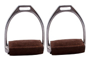 Suede Leather Irons Pads for Australian Saddles