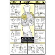 Shoulder Workout 60cm X 90cm Laminated
