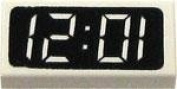 LEGO City LOOSE Accessory Digital Clock