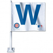 MLB Chicago Cubs 60349081 Car Flag, 30cm x 36cm