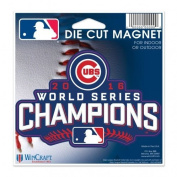 Officially Licenced MLB Chicago Cubs 2016 World Series Champion Magnet