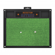 FANMATS 20745 MLB - Houston Astros Golf Hitting Mat, Team Colour, 50cm x 43cm