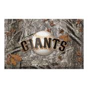 FANMATS 19051 Team Colour 48cm x 80cm San Francisco Giants Scraper Mat