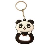 Kangkang@ Cute Panda Bottle Opener Keychain Portable Beer/Soda Bottle Opener