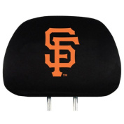 MLB San Francisco Giants Auto Headrest Covers Set of Two