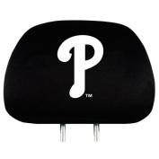 Philadelphia Phillies Auto Headrest Covers Set of Two MLB