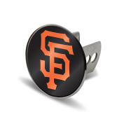 MLB San Francisco Giants Laser Cut Metal Hitch Cover, Large, Silver