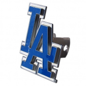 Los Angeles Dodgers Large Zinc Trailer Hitch Cover - MLB Baseball Fan Shop Sports Team Merchandise