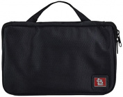 MLB St. Louis Cardinals Travel Toiletries Organiser, 21 x 20cm x 3.8cm , Black