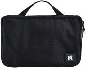 MLB New York Yankees Travel Toiletries Organiser, 21 x 20cm x 3.8cm , Black